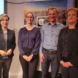vlnr Nadia S. Zaboura, Prof. Dr. Katharina Simbeck, Matthias Spielkamp, Prof. Dr. Ina Schieferdecker